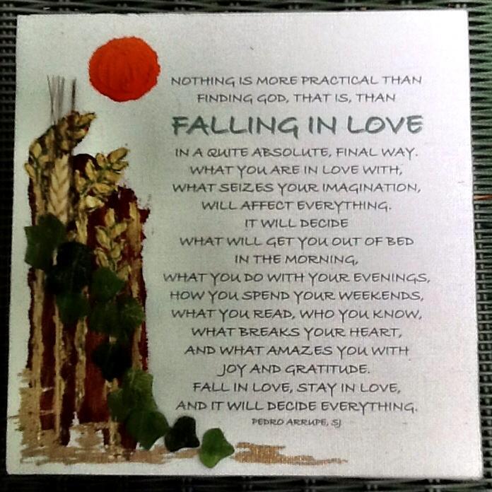 Falling In Love   Pedro Arrupe, SJ  Prayer